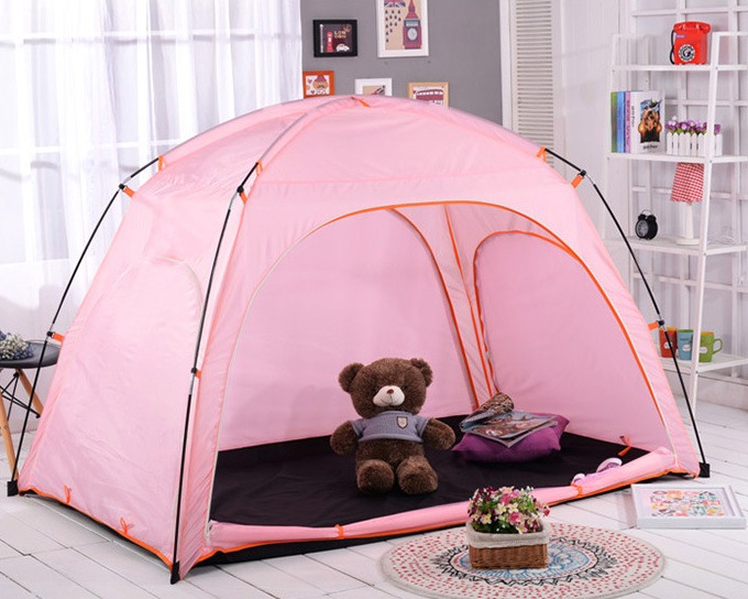 Bedding Accessories Floor less Indoor Privacy Tent Bed Blackout keep Warm Play-in Tents from Sports u0026 Entertainment on Aliexpress.com | Alibaba Group & Bedding Accessories Floor less Indoor Privacy Tent Bed Blackout ...