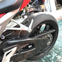 Chain-Guard-Cover Honda Cbr1000rr Carbon-Fiber for 16 100%Twill 17