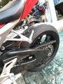 Kette Schutz Abdeckung Für HONDA CBR1000RR 2008 2015 16 17 18 Volle Carbon Faser 100% Twill Abdeckungen & dekorative Formteile Kraftfahrzeuge und Motorräder -