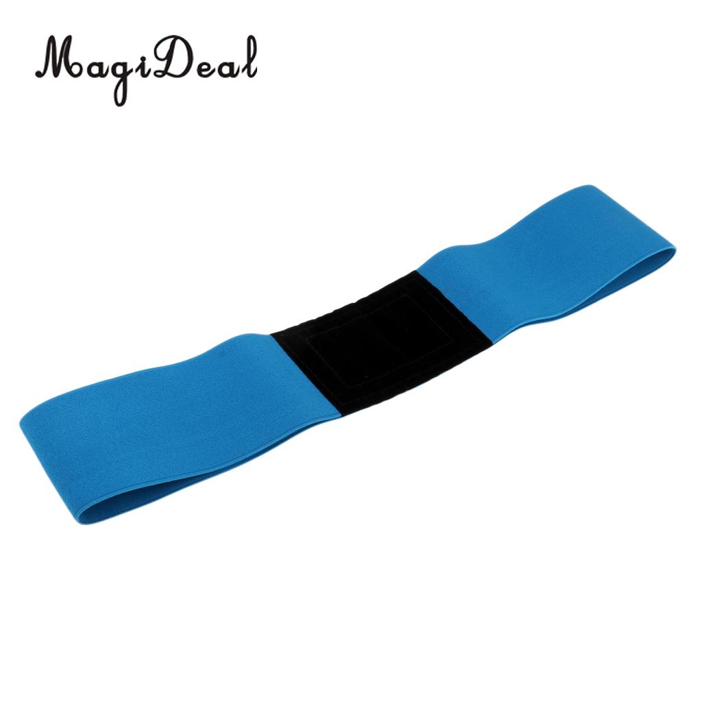MagiDeal 2 Pieces Unisex Adult Men Women Golf Swing Training Aid Arm Band Wrist Corrector Strap Equipment