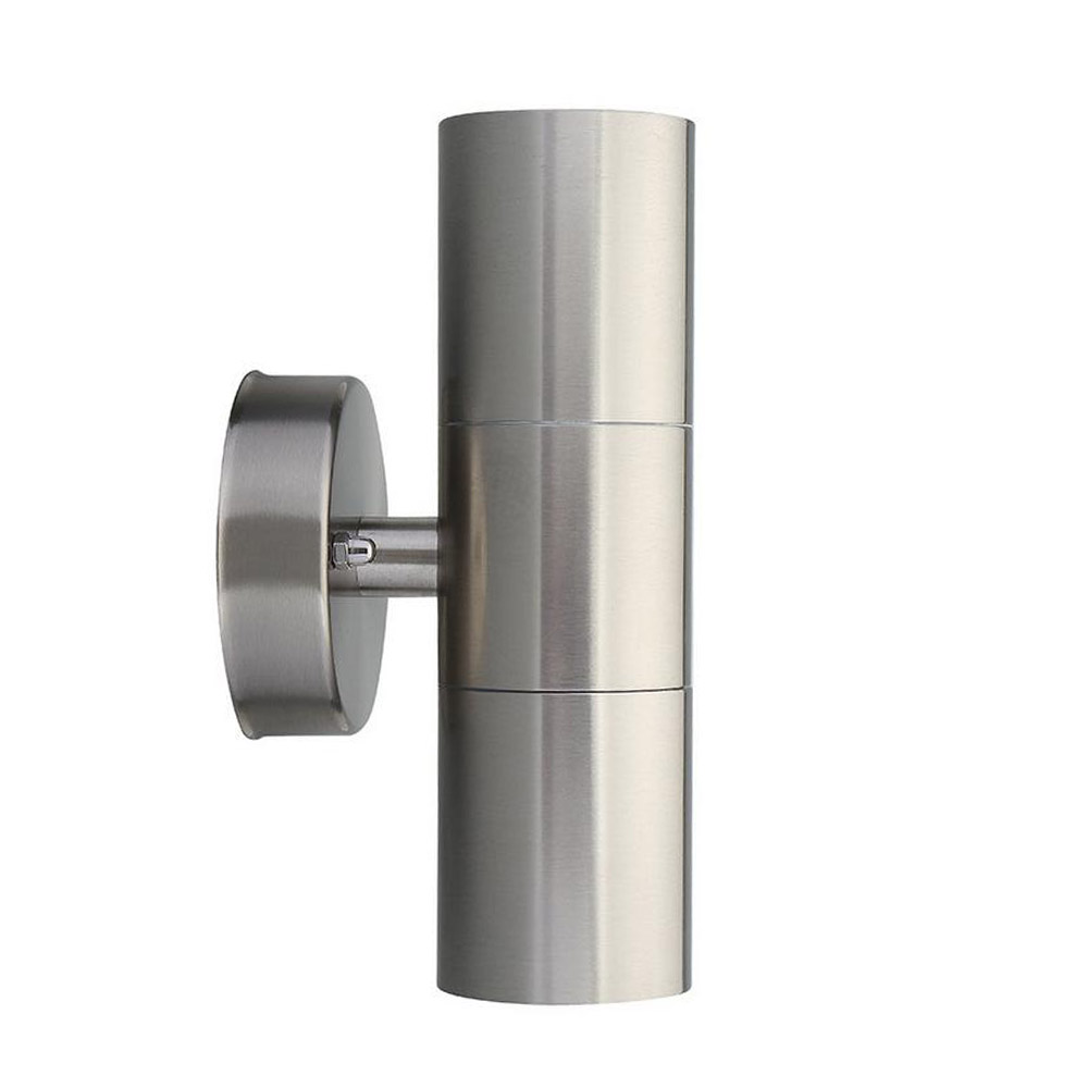 BECOSTAR Stainless Steel outdoor 10w wall professional industrial Scone Lighting Fitting with GU10 Lamp Base