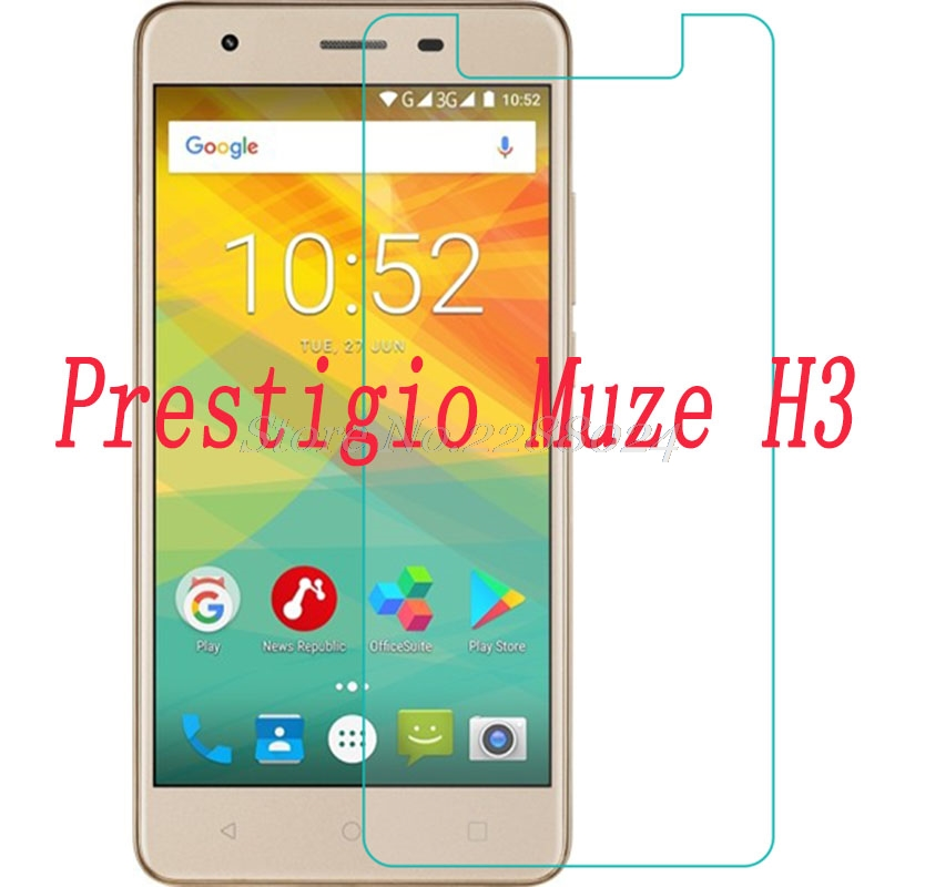 Tempered Glass Film FOR Prestigio Muze H3 <font><b>PSP3552</b></font> <font><b>DUO</b></font> Screen Protector Premium Scratch-proof Protective Front Glass Film image