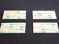 Free Shipping clear 1x50yards 3M Dual Lock Low Profile Reclosable Fastener SJ4570