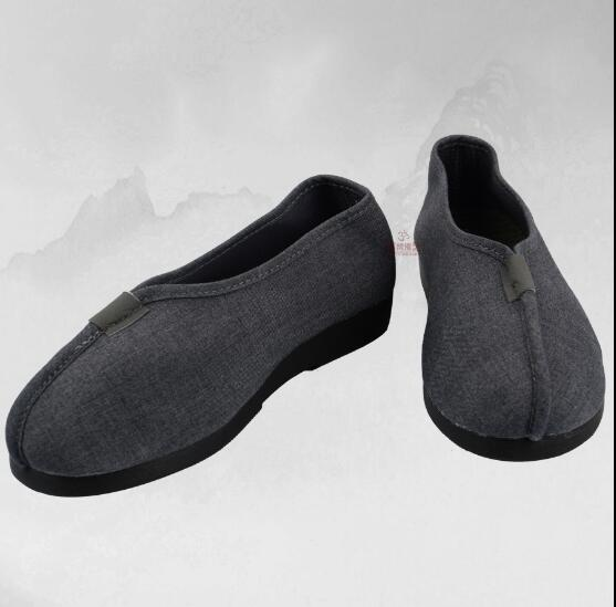 Spring Monk Shoes Ancient Chinese Shoes Man Rohan Shoes-in