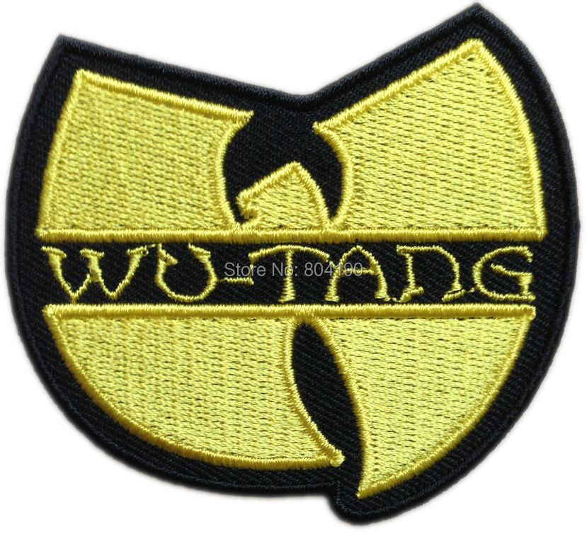 WU TANG CLAN BAND HIP HOP MUSIC Embroidered NEW IRON ON and SEW ON Cool Rock