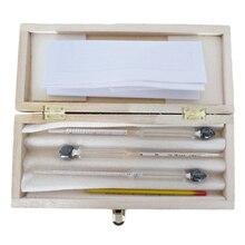 Измерения алкоголя 3 шт./компл. спиртометр для вина измеритель концентрации алкоголя инструмент Ареометр тестер