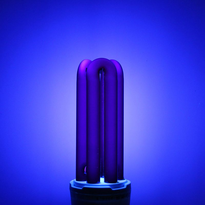 buy uv light bulb e27 15203040w straight energy saving ultraviolet fluorescent black light cfl violet lamp bulb lighting dc12v from - Black Light Bulbs