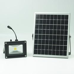Luce solare del giardino solare luce di campeggio proiettore della luce del punto con fotointerruttore