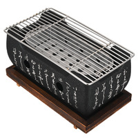 Portable Korean Japanese Food Carbon Furnace Barbecue Stove Cooking Oven Alcohol Grill Household BBQ Grills