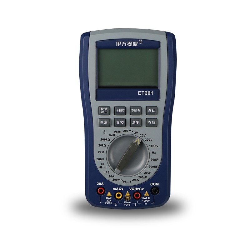 EONE ET201 Oscilloscope Multimeter 2-IN-1 Most Versatile Intelligent Handheld Storage Scope Meter Scopemeter English Manual цена