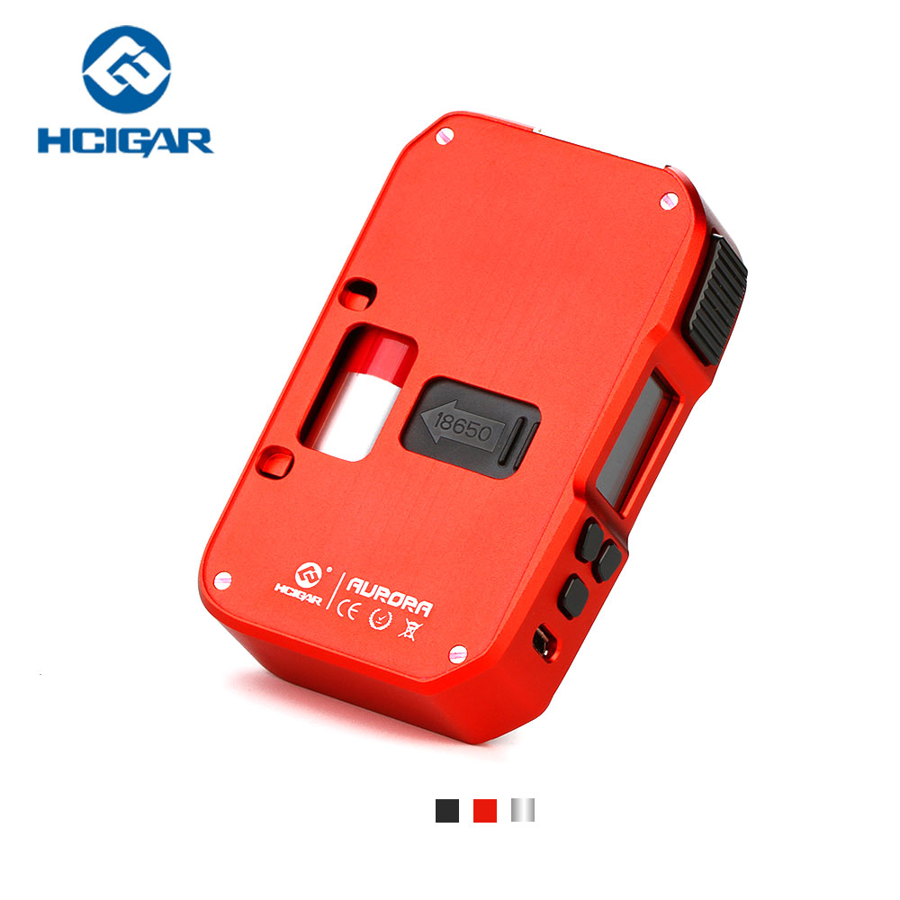 Original 80W Hcigar Aurora MOD with Towis XT80C Chipset & 0.96-inch display& 7ml Silicone Squeeze Bottle No 18650 Battery mod