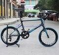 "JAVA Freccia 451 Carbon Mini Velo Bike 20"" 1 1/8"" Minivelo Bicycle With S R A M  APEX Group 20 speed Caliper Brakes"