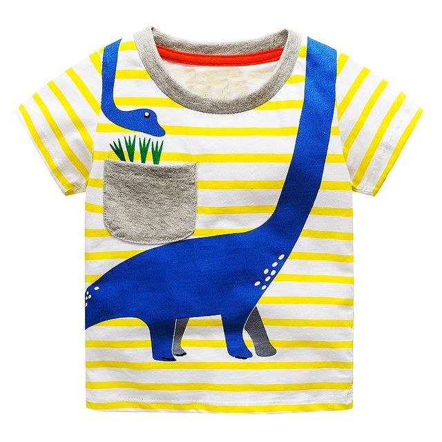 7fda85ff07712 Children T shirts for Boys Clothes 2018 Brand Baby Boys Summer Tops Tee  Shirts Fille Animal