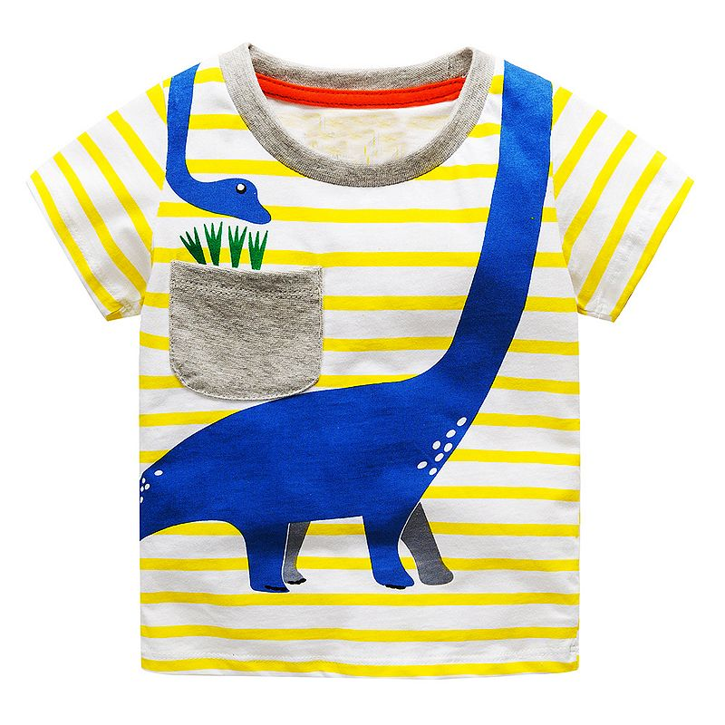 Children T shirts for Boys Clothes 2018 Brand Baby Boys Summer Tops Tee Shirts Fille Animal Print Kids T-shirts Boy Clothing