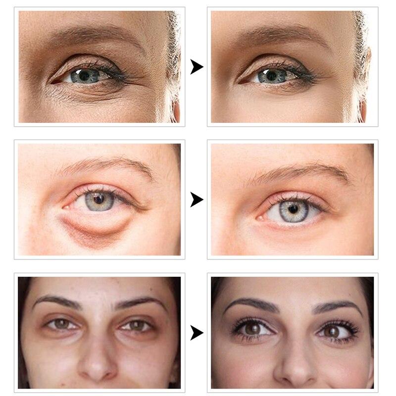 60pcs Eye Mask Gel Seaweed Collagen Eye Patches Under the Eye Bags Dark Circles Removal Moisturizing Eyes Pads Masks Skin Care 5