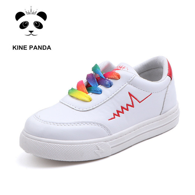 KINE PANDA 1 3 5 7 9 11 Years Old Kindergarten Little Kids Shoes School Student Teen Boys Girls Casual Sneakers Toddler Trainers