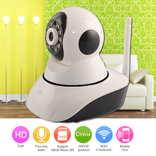1.0MP Wireless IP Camera WIFI IR Cut Night Vision Two Way Audio 720P PTZ CCTV Surveillance Camera IP Onvif P2P Indoor Monitor