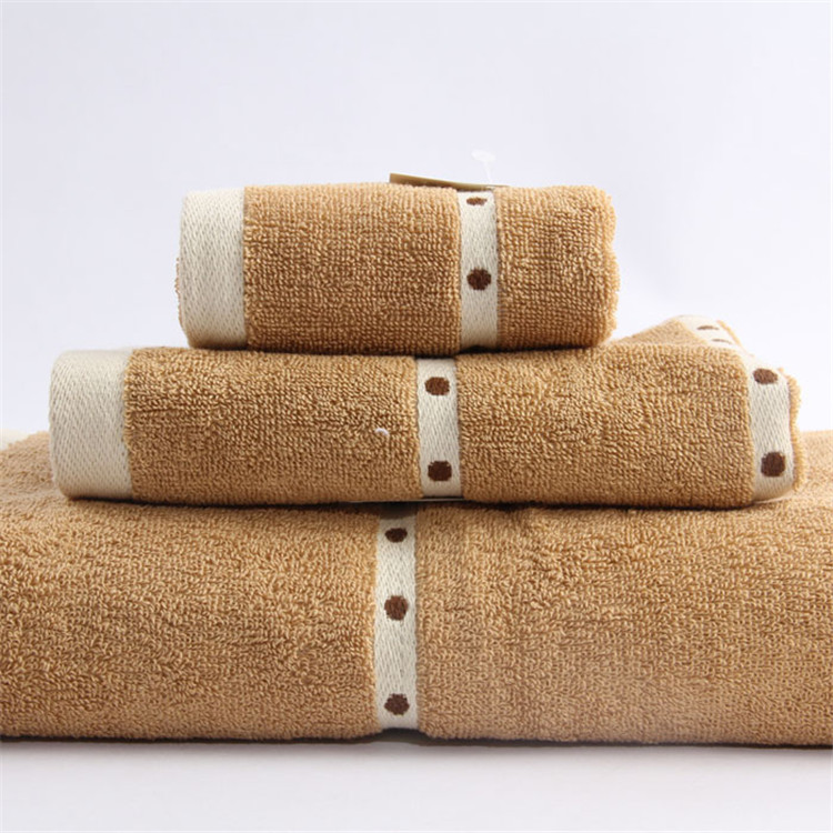 Top Brand Bathroom Brown Towel Sets Solid Cream Color Bath Set For Travel 4320atj In From Home Garden On Aliexpress