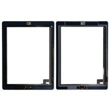 20 2 pçs/lote Tela Sensível Ao Toque de Substituição Digitador Para iPad Digitador Da Tela de Toque com adesivo A1395 A1396 A1397