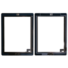 20 teile/los Touch Screen Digitizer Ersatz Für iPad 2 Digitizer Touch Screen mit klebstoff A1395 A1396 A1397