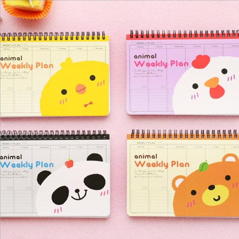 cute weekly schedule