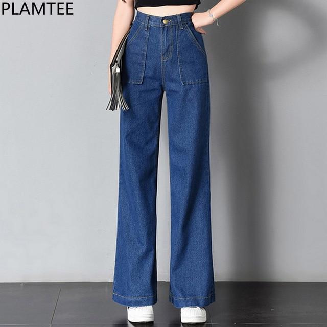 l'ultimo 9db0b 2a44c 99plamtee Tasche Vita Jean Del Jeans Pantaloni Piedino ...