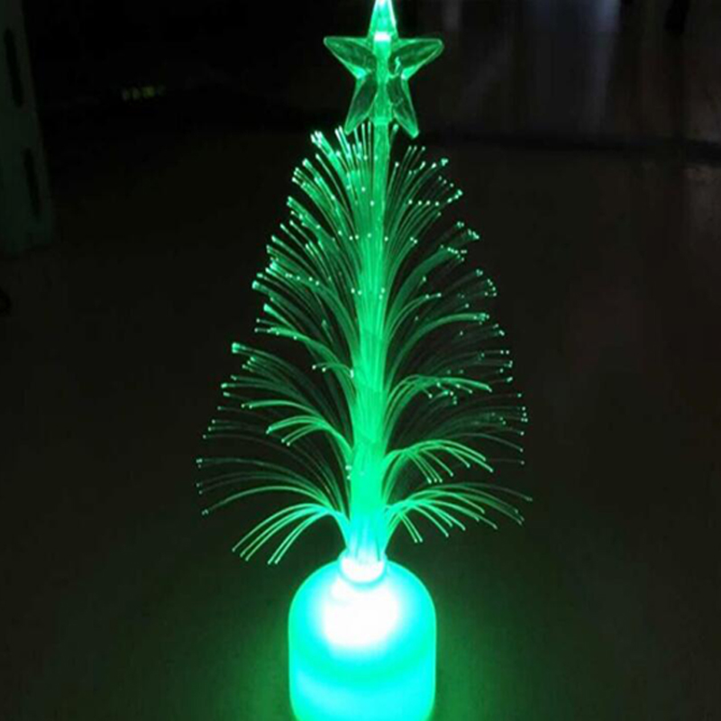 Christmas Tree 7 color Changing Colorful Fiber Optic Nightlight Christmas Tree PartyIndoorHolidayChristmas Decor (3)