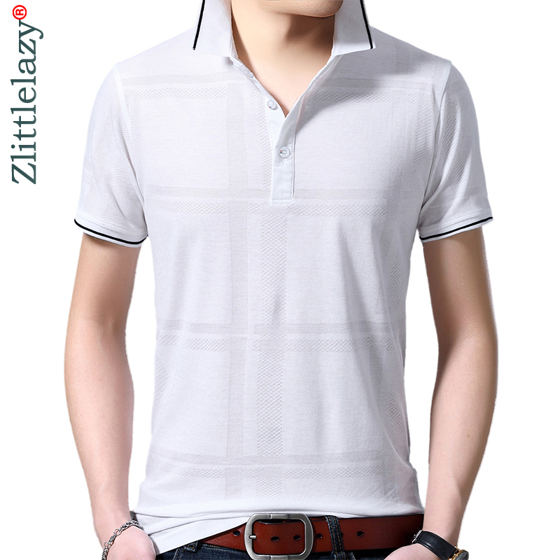 2019 brand casual summer solid short sleeve   polo   shirt men poloshirt jersey luxury mens   polos   tee shirts dress fashions 42243