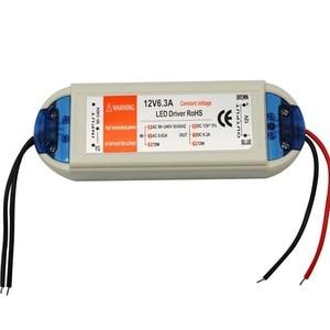 Image 3 - Led אספקת חשמל led שנאי 12v led נהג 5W 18w 28w 48w 72w 100w עבור led רצועת mr16 mr11