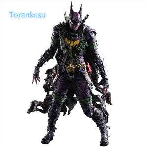 Batman figurine d'action Playarts Kai Gogues galerie Joker PVC modèle jouet Anime film jouer Arts Kai Bat homme Bruce Wayne Figure PA08