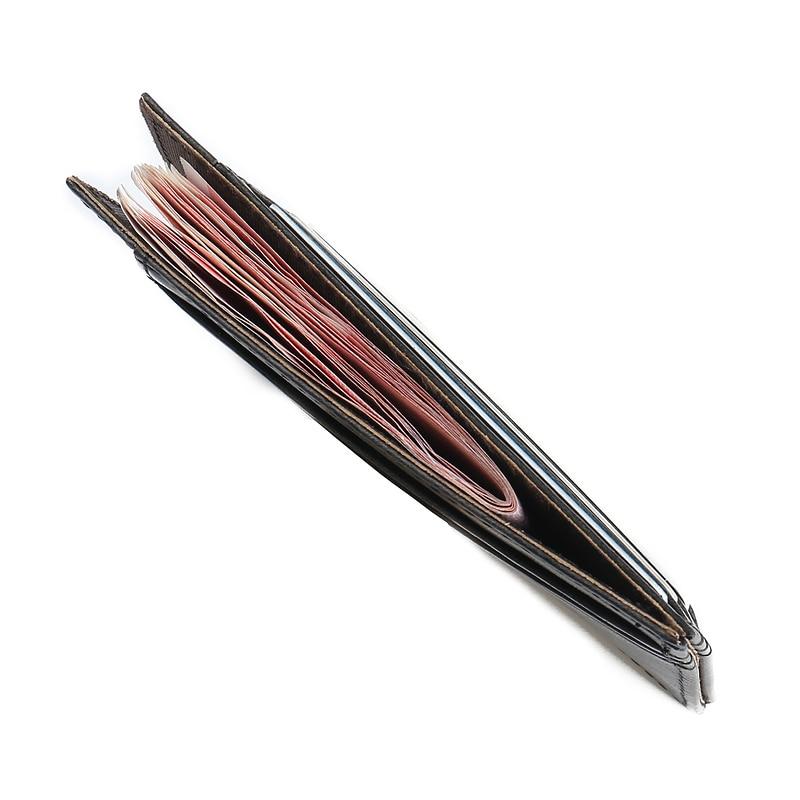 JINBAOLAI Vintage Slim Mini Wallet PU Leather Credit ID Card Holder Case Purse Travel Wallet Wholesale