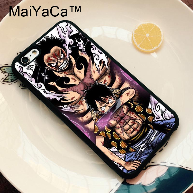 Us 3 99 5 Off Maiyaca Gear Fourth Monkey D Luffy One Piece Phone Case For Iphone X Xr Xs Max 6 6s 7 8 Plus 5 5s Se Cover Fundas In Fitted Cases