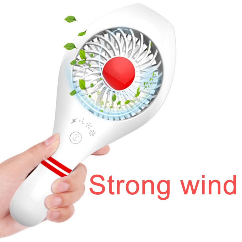 Usb Gadgets Modest Fashion Bowling Shape Handheld Cooling Fan Portable Desk Table Fan Quiet Usb Rechargeable Summer Cooling Fan For Home Office