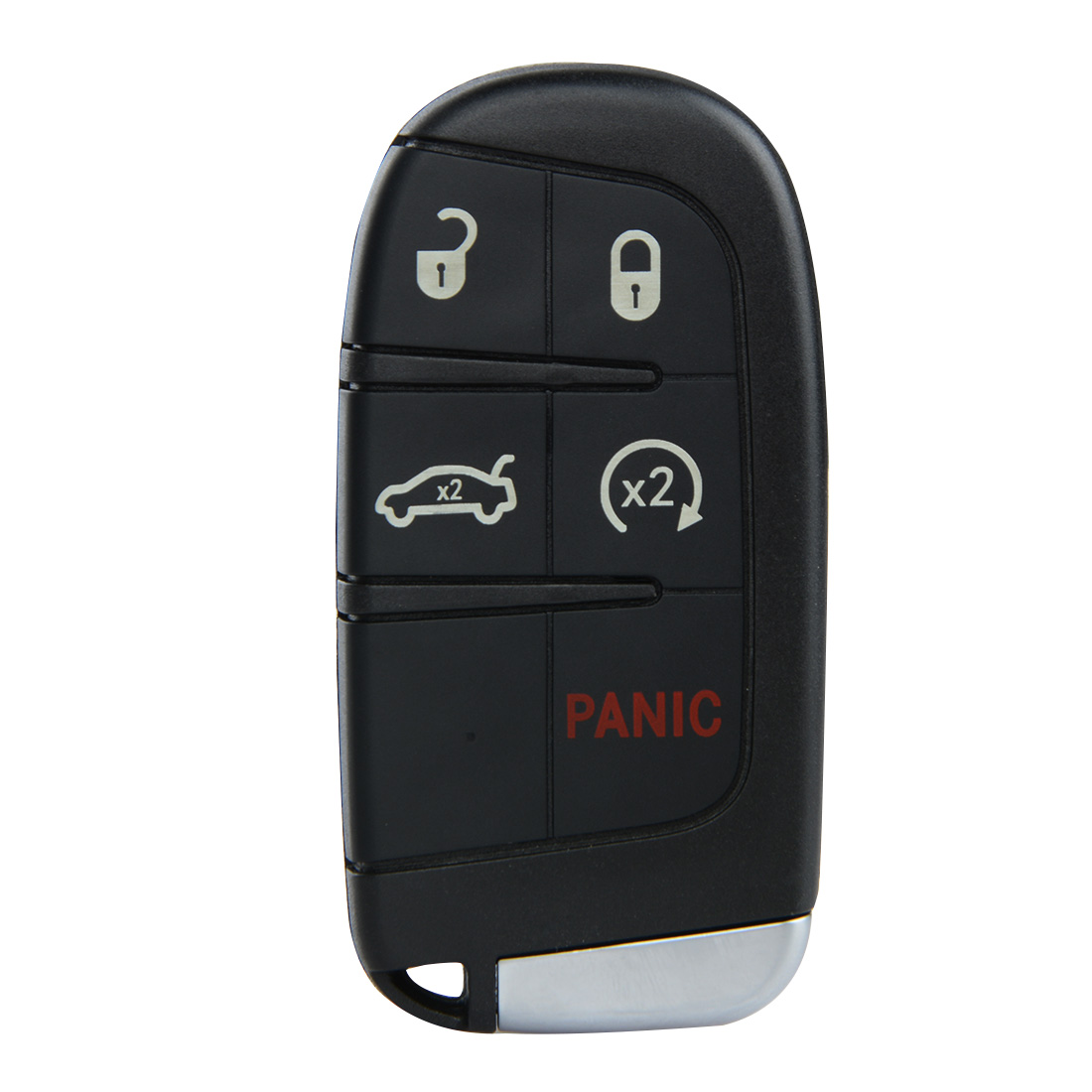 New Keyless Entry Uncut Smart Key Fob 5 Button for Dodge Charger Remote Key Fob Transmitter Push Start Fobik