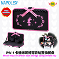 Free shipping Car Accessories  minnie mouse cartoon car seat back storage compartment tray  WN-1