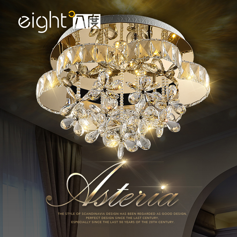 Ceiling lighting Living room lights LED crystal lamps bedroom dining room ceiling lamps Ceiling Lights rectangular europe living room crystal lights led ceiling lamps bedroom modern minimalist dining room lighting high quality