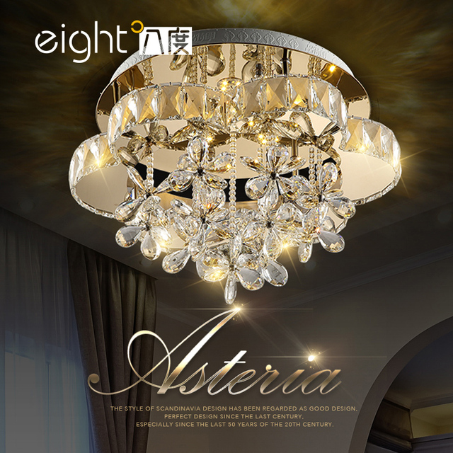 Ceiling lighting Living room lights LED crystal lamps bedroom dining room ceiling lamps Ceiling Lights