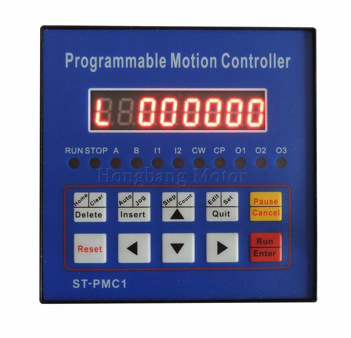 Envío gratuito controlador de motor paso a paso CNC controlador de movimiento controlador de eje único programable ST-PMC1 - 4