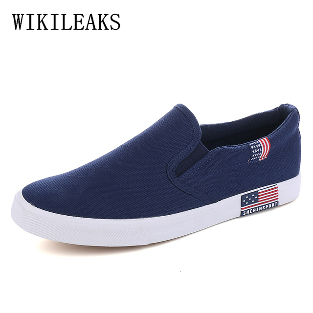 designer sneakers luxury brand canvas shoes men tenis mocassin homme mens  shoes casual slip on shoes 036af2201463
