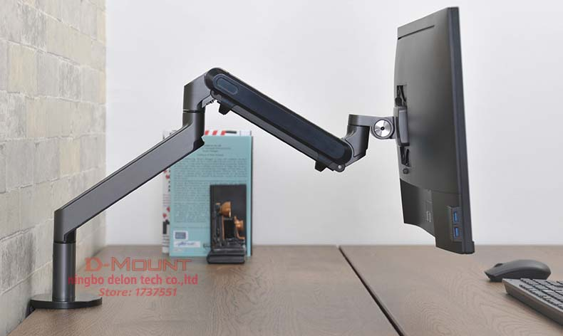 2018 new OZ 1 17 32 inch Monitor Holder Desk Stand Single Arm Gas Spring Monitor