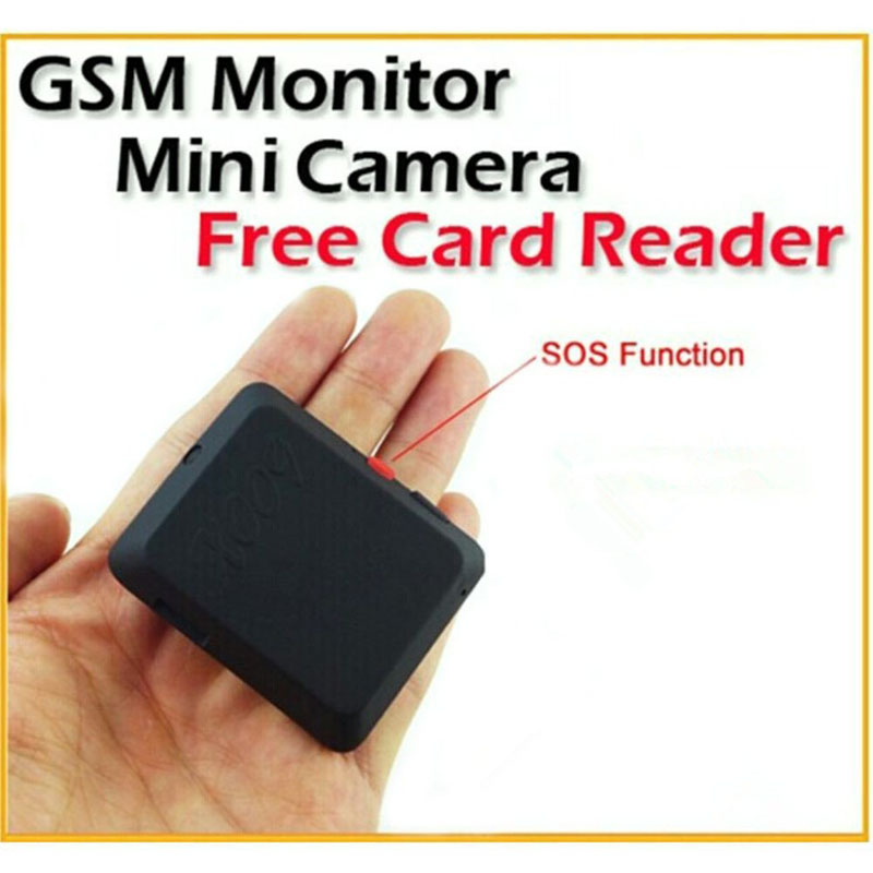 Mini GSM Tracker Locator Camcorders With Camera Monitor Video Recorder & SOS Button HSJ-19