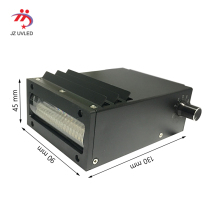Fan cooling UV lamp for Nocai 6090 Uv flatbed printer 395nm Ricoh G4 G5 Nozzle Ultraviolet LED light the cure