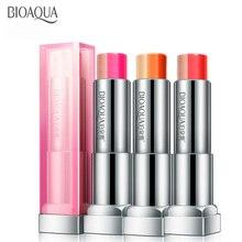 BIOAQUA Lipsticks Womens Gradient Change Three-Color Makeup Lipstick Long-lasting Waterproof Lip Balm Beauty