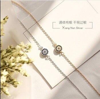 Злой штамп для глаз Тибетский посеребренный браслет Nazar Boncuk, очаровательный браслет и браслет для женщин, женские ювелирные изделия, подарки, бесплатная доставка