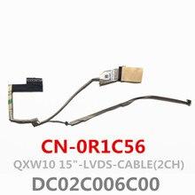 Nova QXW10 DC02C006C00 Lvds Cable (2ch) Para Dell Latitude E5530 Lcd Cabo Lvds CN-0R1C56