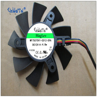 POWER LOGIC Fan GTX550Ti PLA08015B12HH 12 V 0 35 75mm 42x42x42mm MSI R4770 R6850 Graphics Card