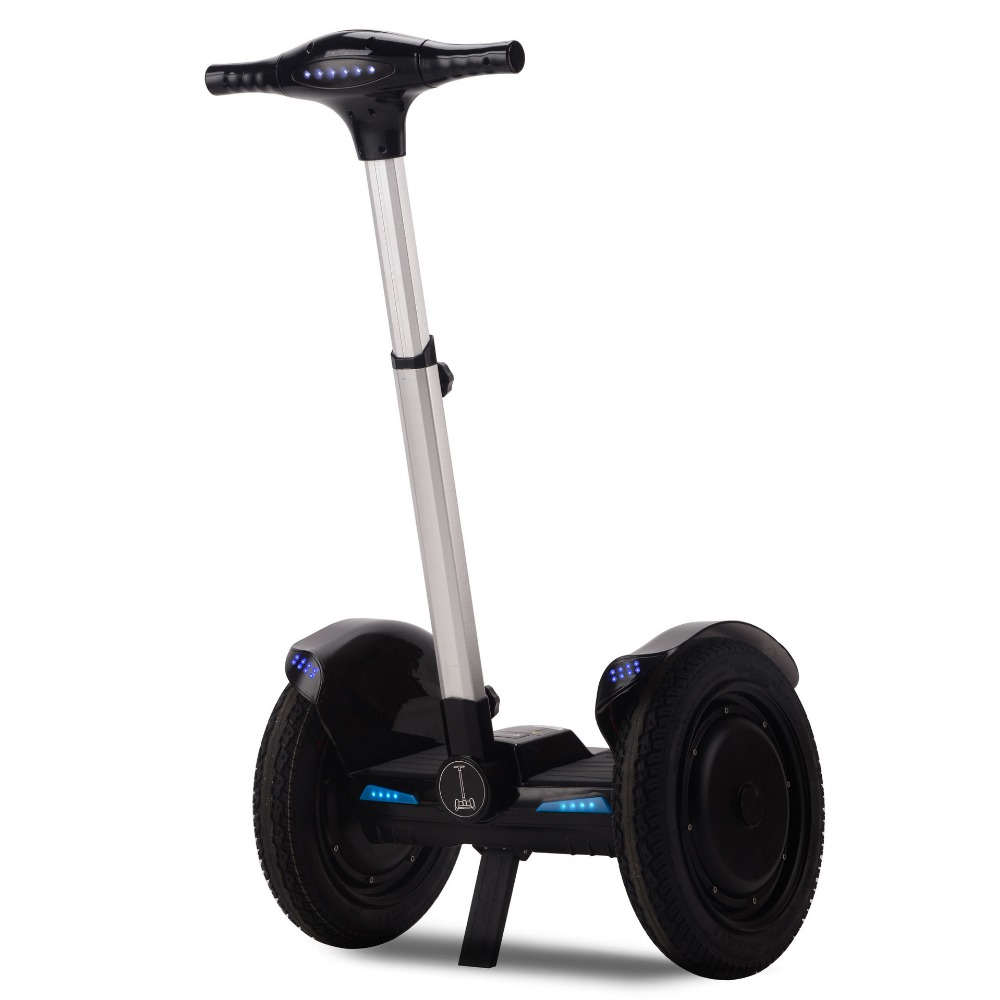 Portable Grand TireTwo Roue Auto Équilibrage Scooter 72 V Batterie Au Lithium Offroad Cruiser 1000 W Moteur Smart Balance Voiture De Vagabondage