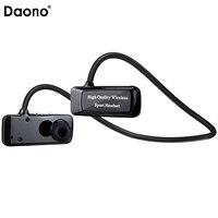 Daono F5 Mini Bluetooth 4 1 Headset Sport Wireless Headphones Music Stereo Earphones Micro SD Card