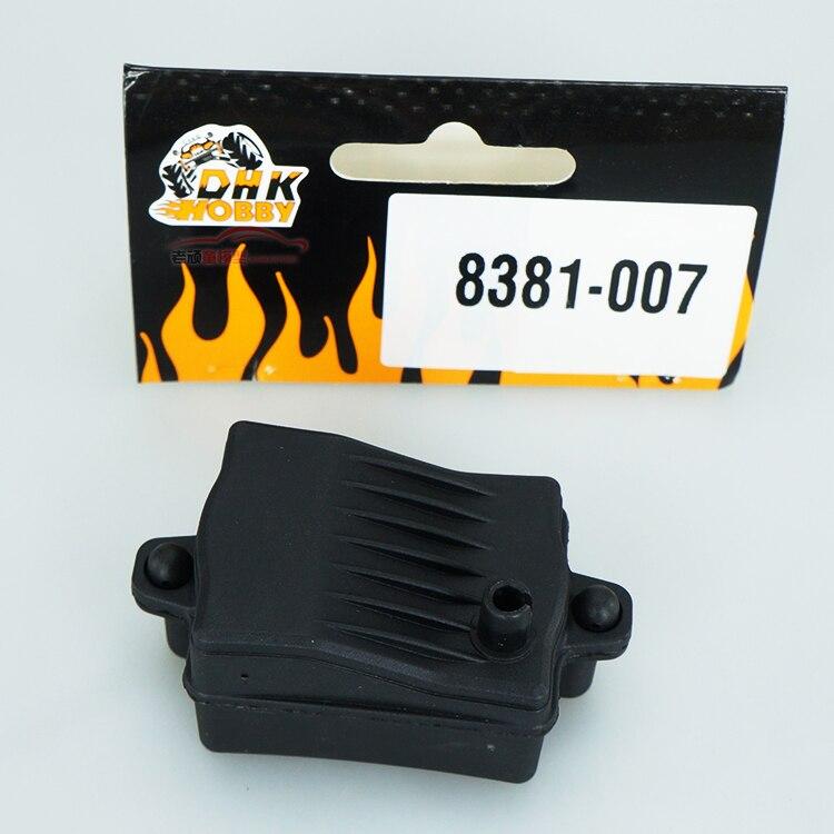 Бесплатная доставка DHK 8381-007 727 63*34*29 мм A10 HSP 8384 Универсальный водонепроницаемый приема коробка высокого качества RC части автомобиля RC ccessories