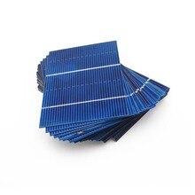 50 шт. 78x52 мм солнечная панель DIY солнечные элементы поликристаллический фотоэлектрический модуль DIY Солнечное зарядное устройство Painel Солнечный 0,66 ВТ